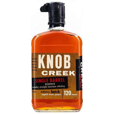 Knob Creek Single Barrel Reserve American Straight Bourbon Whiskey