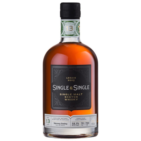 Ledaig 13 Year Old 2005 Single & Single Islands Scotch Single Malt Whisky