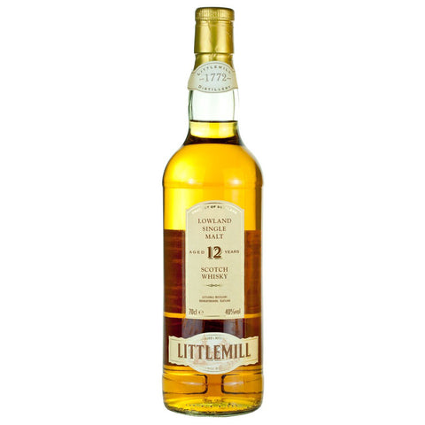 Littlemill 12yo Lowland Single Malt Scotch Whisky