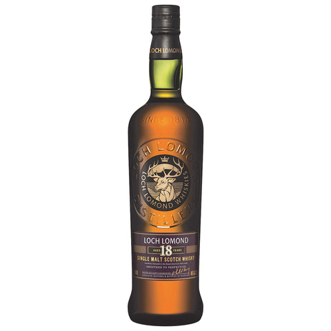 Loch Lomond 18yo Highlands Single Malt Scotch Whisky