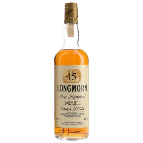 Longmorn 15yo Speyside Single Malt Scotch Whisky