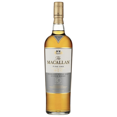 Macallan 10yo Fine Oak Single Malt Scotch Whisky