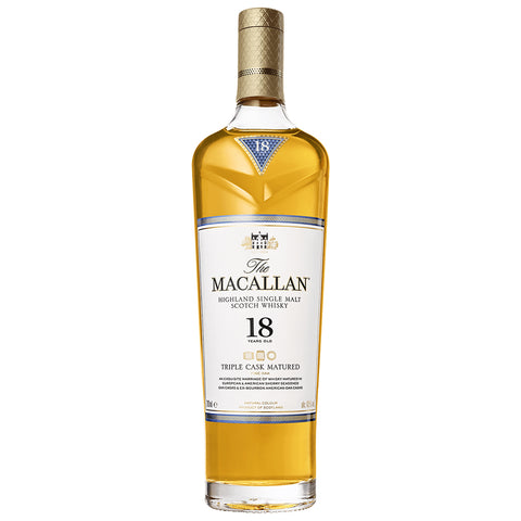 Macallan 18yo Triple Cask Speyside Single Malt Scotch Whisky