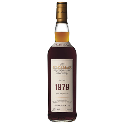 Macallan 1979 Fine & Rare Speyside Single Malt Scotch Whisky