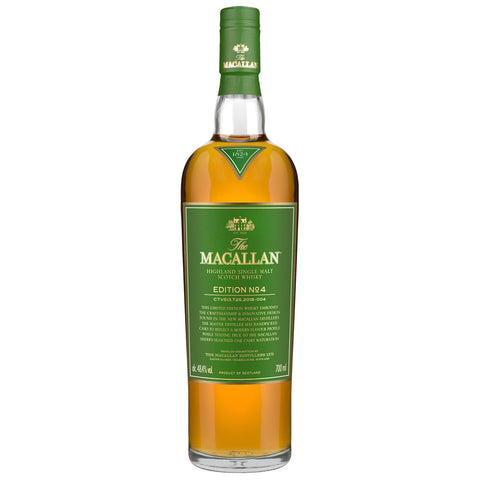 Macallan Edition No. 4 Speyside Scotch Single Malt Whisky