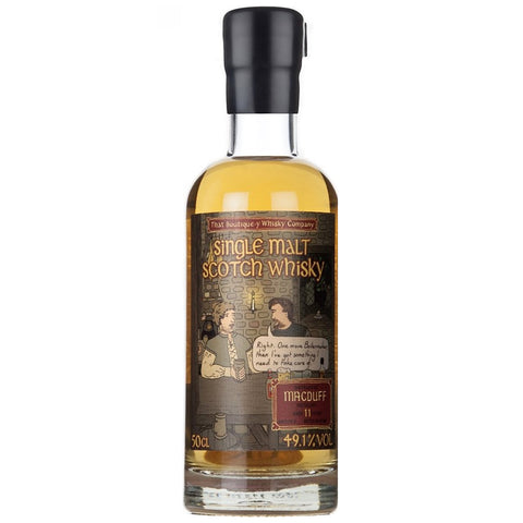 Macduff 18yo Boutiquey Speyside Single Malt Scotch Whisky