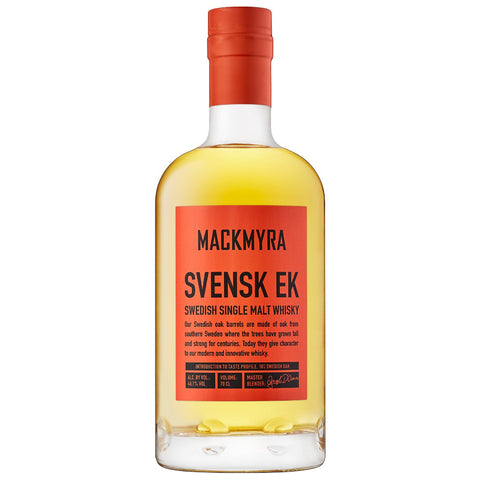 Mackmyra Svensk Ek Swedish Single Malt Whisky