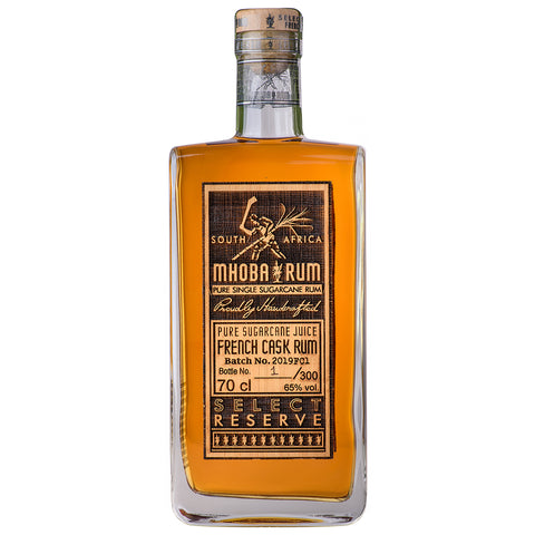 Mhoba Select Reserve French Cask Rum
