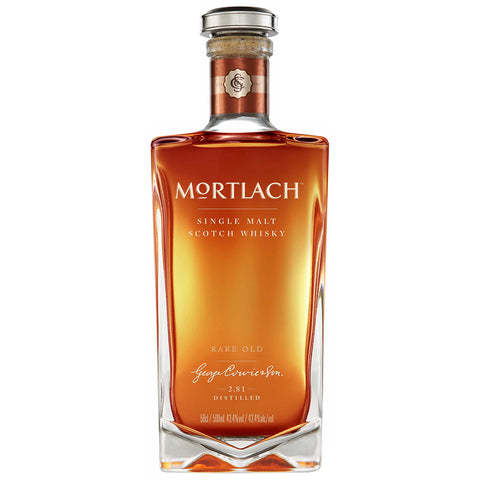 Mortlach Rare Old Speyside Scotch Single Malt Whisky