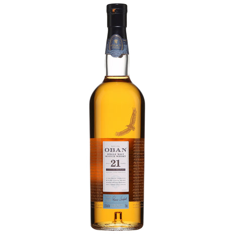 Oban 21yo 2018 Release Highlands Single Malt Scotch Whisky