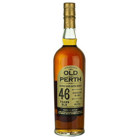 Old Perth 46yo Morrison and MacKay Blended Scotch Grain Whisky