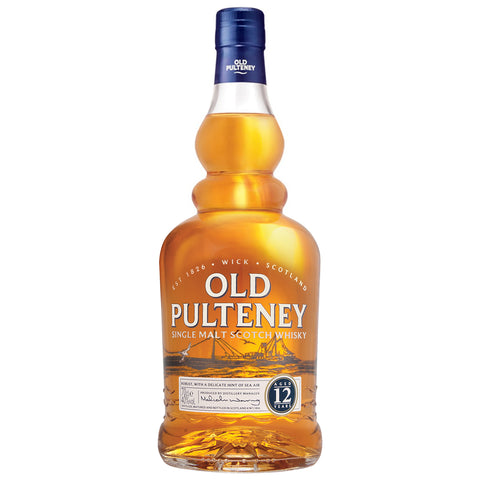 Old Pulteney 12yo Highland Single Malt Scotch Whisky