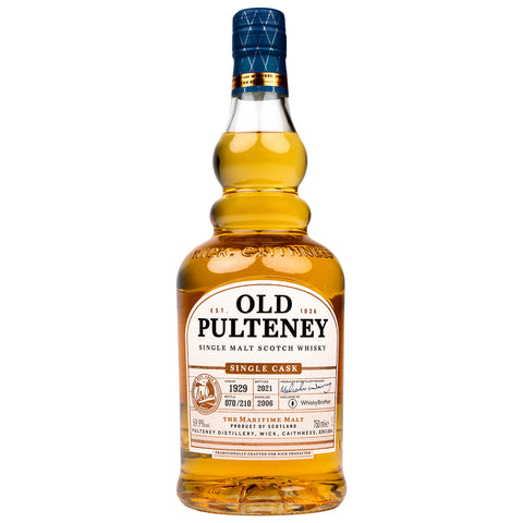Old Pulteney 2006 Single Cask WhiskyBrother Highlands Single Malt Scotch Whisky