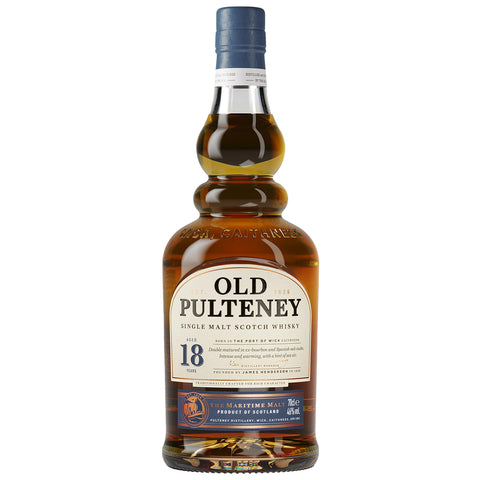 Old Pulteney 18 Year Old Highland Single Malt Scotch Whisky
