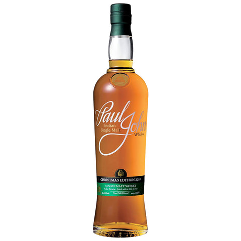 Paul John Christmas Edition 2019 Indian Single Malt Whisky