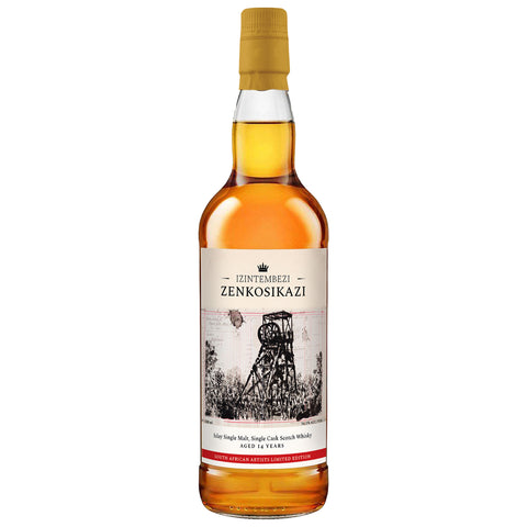 Port Charlotte 14yo William Kentridge Islay Scotch Single Malt Whisky