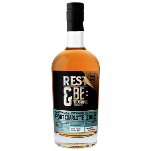 Port Charlotte 15yo REst & Be Thankful Islay Single Malt Scotch Whisky