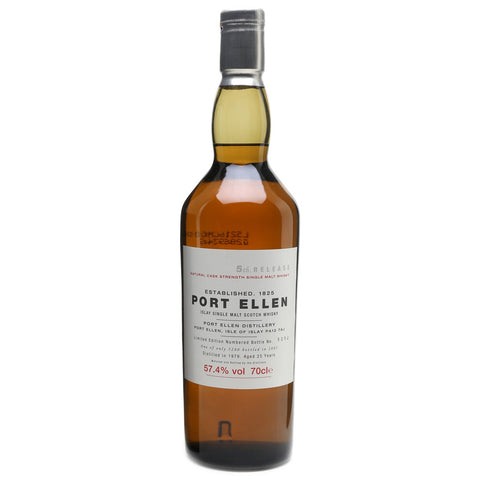 Port Ellen 25yo 2005 Release Islay Single Malt Scotch Whisky
