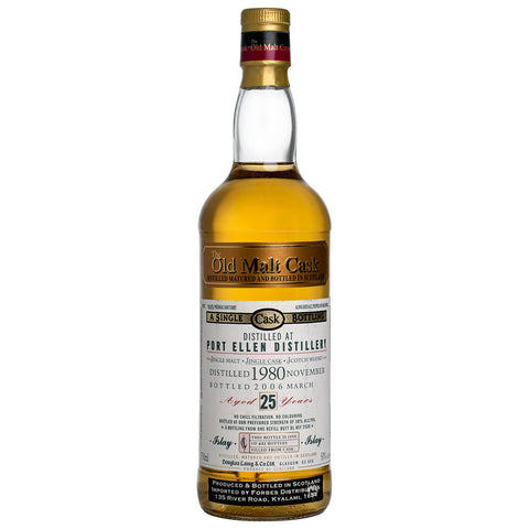 Port Ellen 25 Year Old Old Malt Cask Islay Single Malt Scotch Whisky