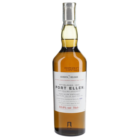 Port Ellen 28yo 2007 Release Islay Single Malt Scotch Whisky