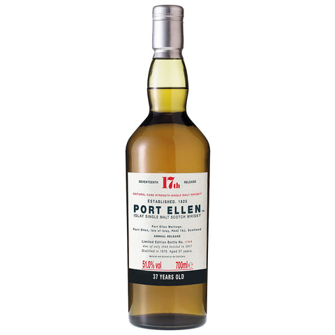 Port Ellen 37yo 17th Release Islay Scotch Single Malt