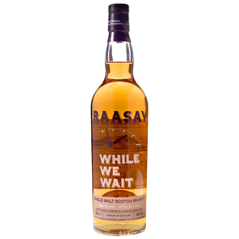 Raasay While We Wait Islands Single Malt Scotch Whisky