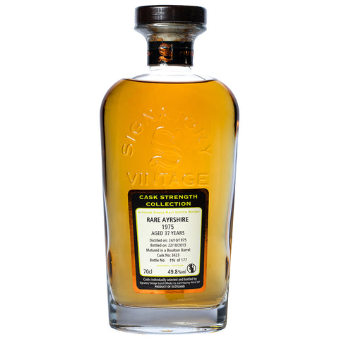 Rare Ayrshire 37yo 1975 Signatory Scotch Single Malt Whisky