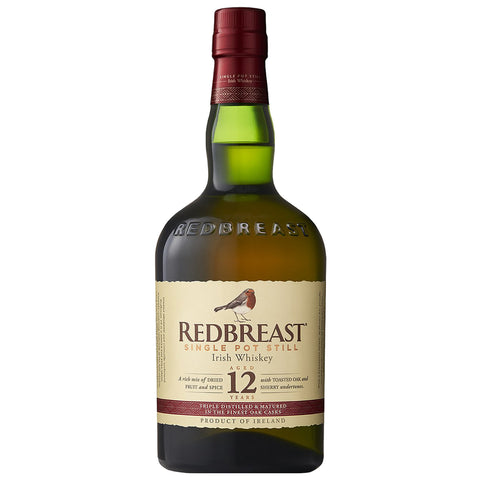 Redbreast 12yo Single Pot Still Irish Whiskey