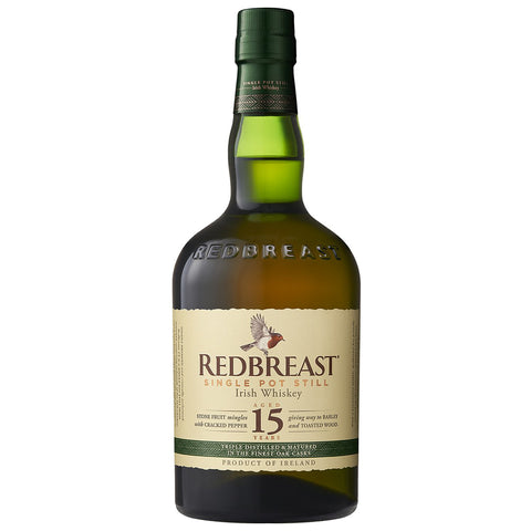 Redbreast 15yo Single Pot Still Irish Whiskey