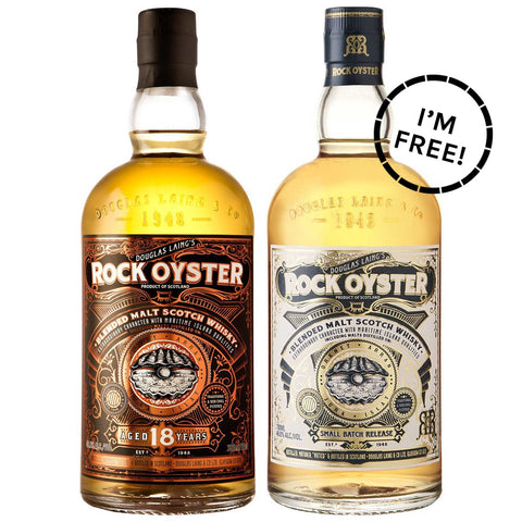 Rock Oyster 18yo Promotion Scotch Blended Malt Whisky