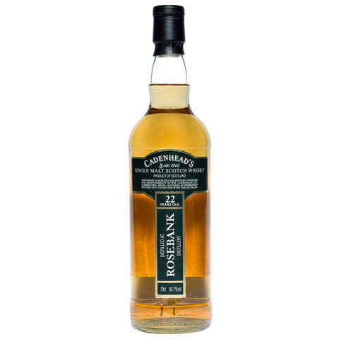 Rosebank 22yo Cadenhead Single Malt Scotch Whisky