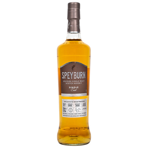 Speyburn 15 Year Old Single Cask WhiskyBrother Speyside Single Malt Scotch Whisky
