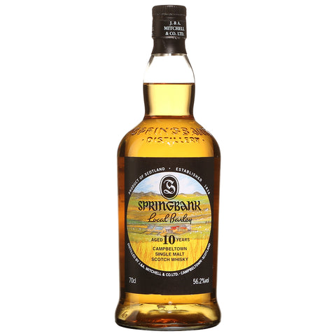 Springbank 10yo Local Barley Campbeltown Single Malt Scotch Whisky