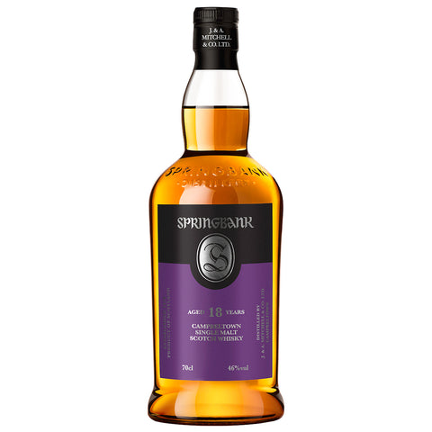 Springbank 18yo Campbeltown Single Malt Scotch Whisky