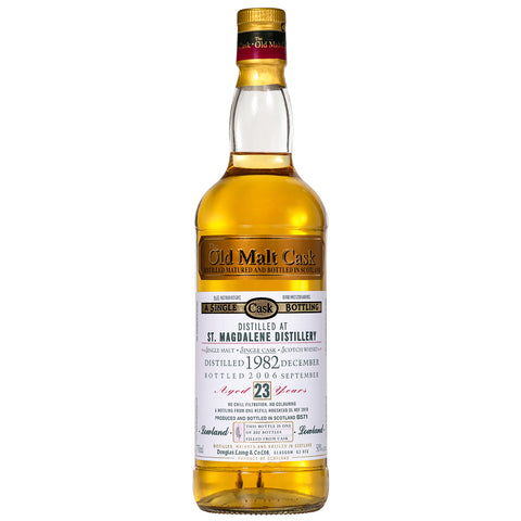 St Magdalene 23yo Old Malt Cask Lowland Single Malt Scotch Whisky
