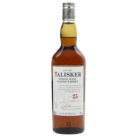 Talisker 25yo 2017 Scotch Single Malt Whisky