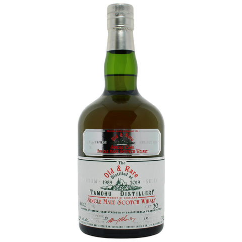 Tamdhu 30yo Old and Rare Speyside Single Malt Scotch Whisky