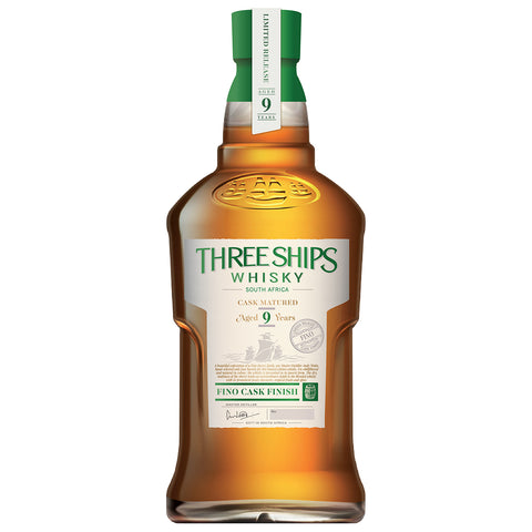 Three Ships 9yo Fino Cask Finish Blended South African Whisky