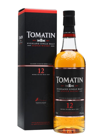 Tomatin 12yo (Old Bottling)