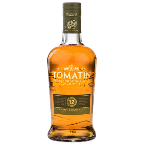 Tomatin 12yo Highland Scotch Single Malt Whisky