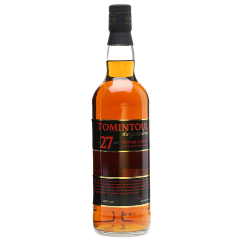 Tomintoul 27yo Speyside Single Malt Scotch Whisky