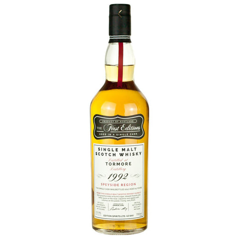 Tormore 25yo First Editions Speyside Single Malt Whisky
