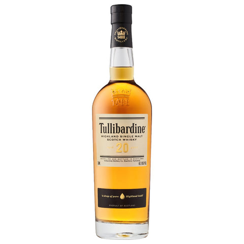 Tullibardine 20yo Highlands Scotch Single Malt Whisky