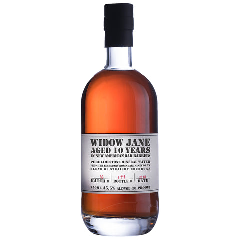 Widow Jane 10yo Straight Bourbon Whiskey