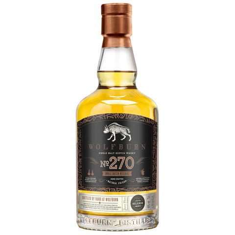 Wolfburn No 270 Highland Scotch Single Malt Whisky