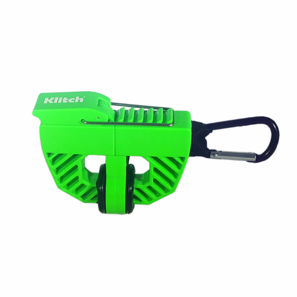 Klitch Footwear Clip, Green