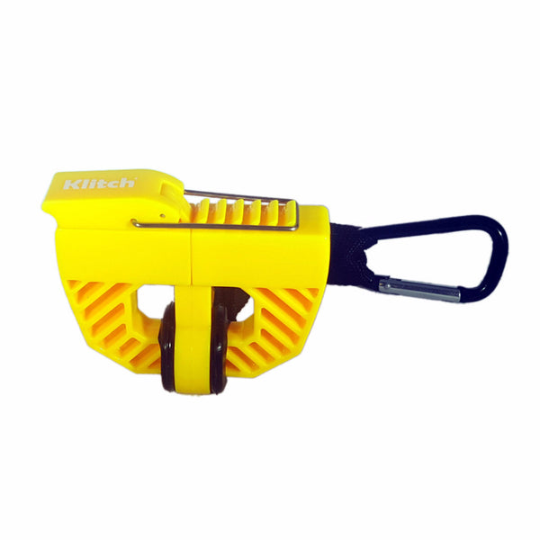 Klitch Footwear Clip, Yellow