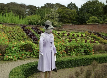 Trengwainton National Trust Gardens in Penzance - Royal Scarecrows?!