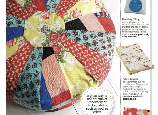 Sew Magazine - 2 Mentions for Emma's Fabric Studio