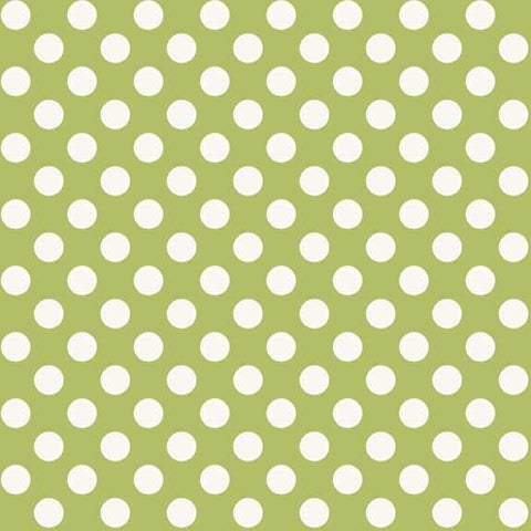 FQ0150 Polka Spots BLUE - Makower UK